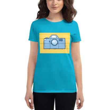 camiseta-chica-fotografía-azul