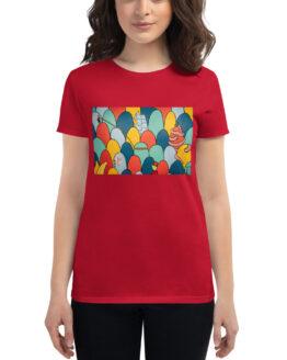 Camiseta de manga corta para mujer #colinas