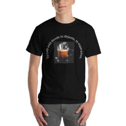 #cafébar camiseta chico