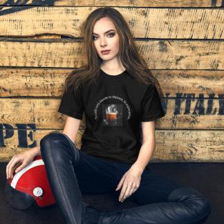 #cafébar camiseta chica