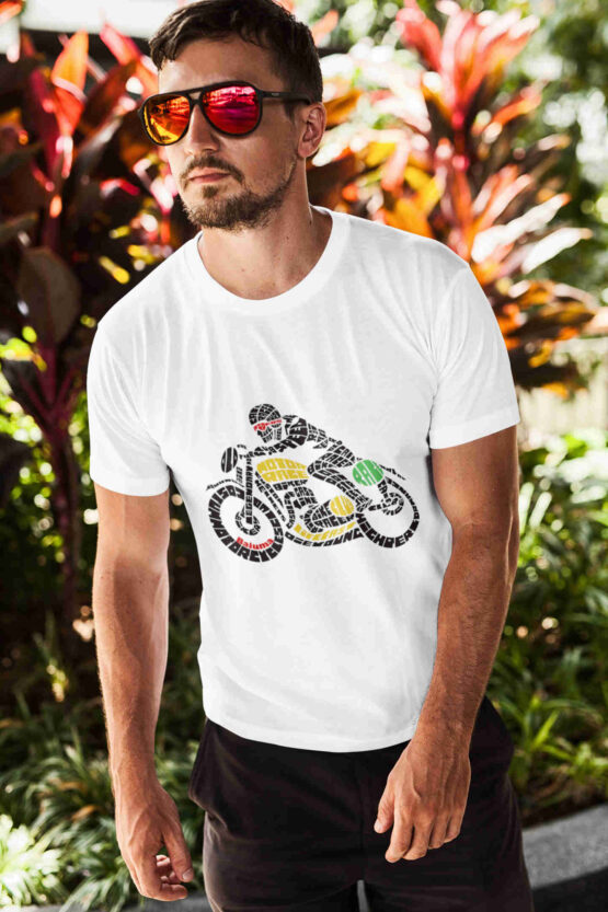 #caferacer chico blanca